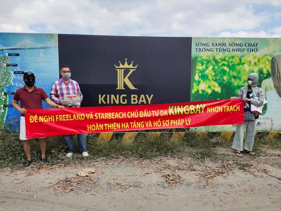 Công an Đồng Nai chuyển nhiều đơn tố cáo chủ đầu tư dự án King Bay cho Công an TP.HCM