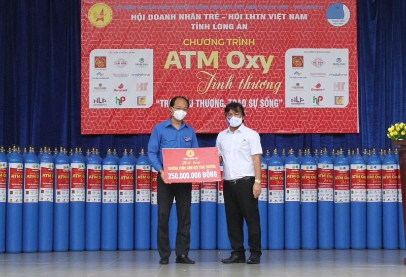 Tập đoàn Thắng Lợi đồng hành cùng ATM Oxy tình thương